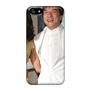 High Quality Mallika Sherawat With Jackie Chan Cases For Iphone 5/5s / Perfect Cases