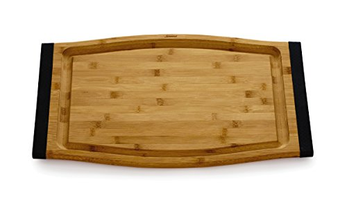 Savora Non-Slip Bamboo Cutting Board with Groove, 12
