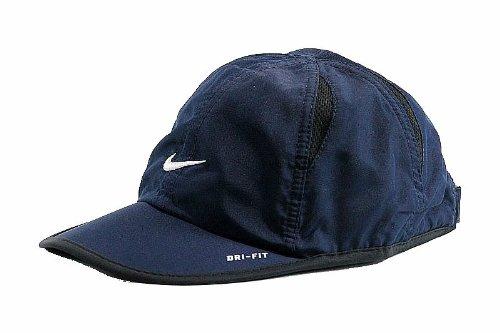 Nike Visor Summer - Nike Infant Boy's Dri-Fit Embroidered Logo Obsidian Baseball Cap Hat Sz: 12/24M