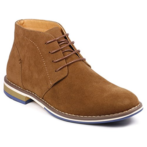 Image of Metrocharm MC131 Men's Lace Up Casual Fashion Ankle Chukka Boot