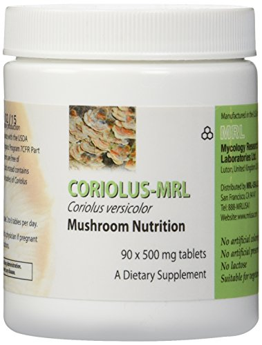 (Mycology Research Labs - Coriolus Versicolor-MRL 500 mg 90 tabs)