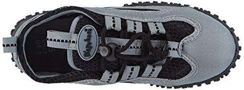 Aquaschuhe 33 Badeschuhe Playshoes Zapatos sintético de Gris de Grau unisex Grau Surfschuhe Aqua material wO6qd65