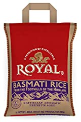 Royal makes it easy to buy Basmati rice that's truly authentic, from the foothills of the Himalayan Mountains. A harmony of climate, fertile soil and pure spring water produce this extraordinary, delicate-tasting grain. Our rice is carefully ...