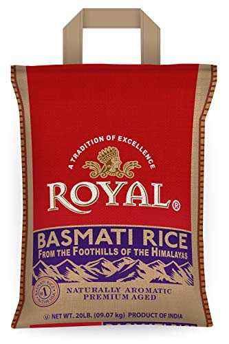 Royal White Basmati Rice, 20 Pound (Best Brand Of Brown Rice In India)