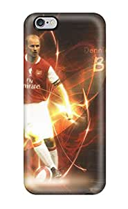 Durable Protector Case Cover With Dennis Bergkamp Hot Design For Iphone 6 Plus
