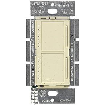 Lutron MA-L3L3-LS Maestro 300 Watt (top)/300 Watt (bottom