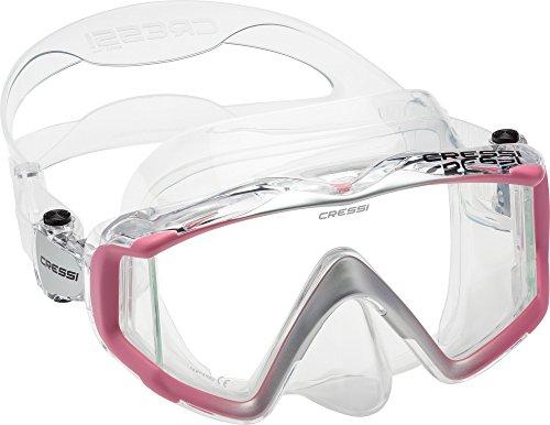 Cressi Liberty Triside Spe Diving Mask, - Clear Scuba