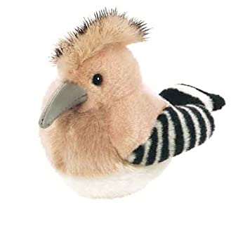 Wild Republic 79614 - Pájaro de peluche con sonido real, diseño de abubilla