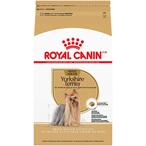 Royal Canin Yorkshire Terrier Adult Breed Specific Dry Dog Food, 10 Pounds. Bag