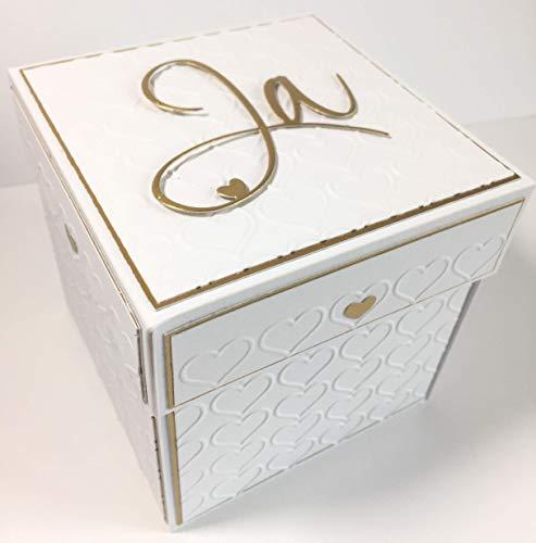 Explosionsboxgeldgeschenk Zur Hochzeithochzeitsgeschenk