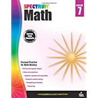 Spectrum | Math Workbook | 7th Grade, 160pgs