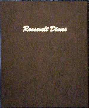 Dansco US Roosevelt Dime Coin Album 1946 - 2026 #7125