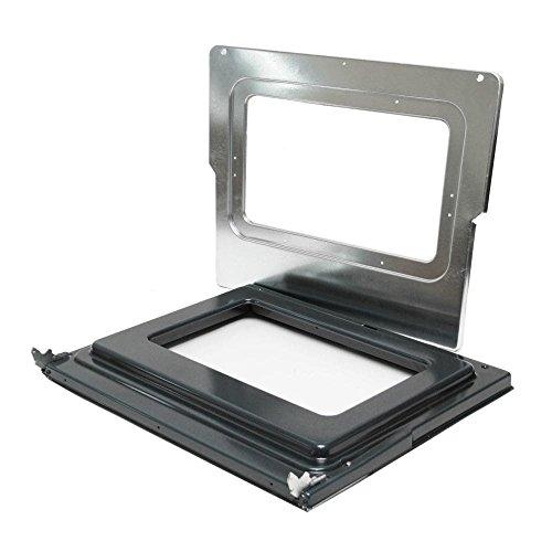 Bosch 00687665 Range Oven Door Hinge Kit Genuine Original Equipment Manufacturer (OEM) Part ()