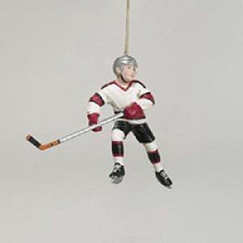 Kurt Adler Hockey Player Christmas Ornament