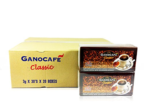 20x Gano Excel Ganocafe Black Coffee Classic No Sugar Healthy Instant Coffee + FREE Zrii Premix Rise Coffee + FREE Expedited Shipping by Gano Excel