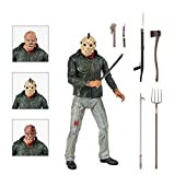 BODAN NECA Action Figure Friday The 13th Part 3 Jason Voorhees Action Figure Statues Model Doll Horror Collection Gifts - PVC 7'