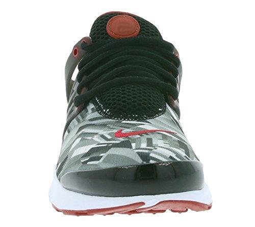 Nike 859596-001, Zapatillas de Trail Running para Niños Negro (Black / Gym Red / Wolf Grey / White)