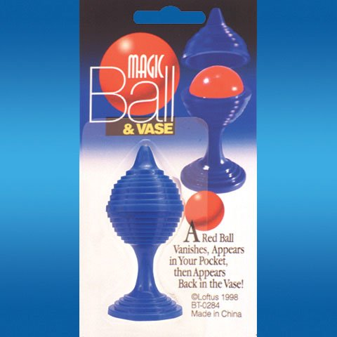 Loftus Magic Red Ball and Blue Vase Trick