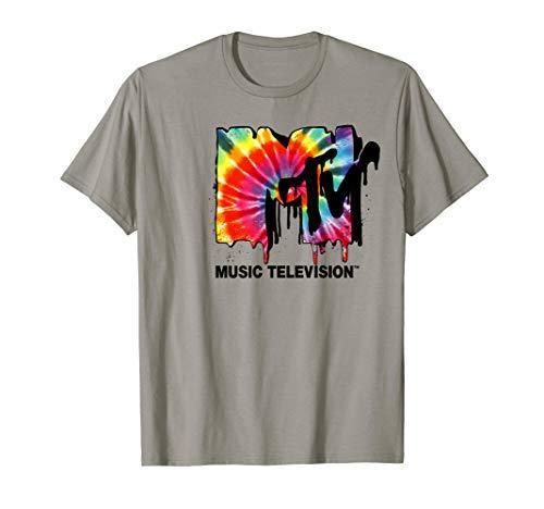 MTV Logo Tie Dye Drip Graphic T-Shirt ()