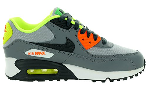 NIKE Air Max 90 (GS) Boys Running Shoes Wolf Grey/Anthrct/Cl Gry/White best seller online T6s2GslXv1