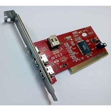 TARJETA PCI FIREWIRE SATYCON IEEE 1394 3+1 VT6307: Amazon.es ...