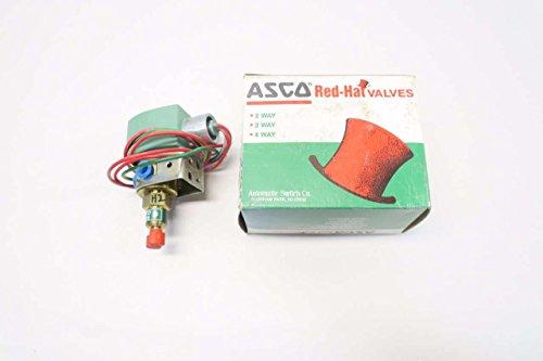NEW ASCO 8320G136MS RED-HAT 120V-AC 1/8 IN NPT SOLENOID VALVE D534601
