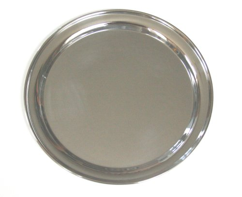 Serving Platter Round 12 (12 Inch Round Stainless Steel Serving Tray)