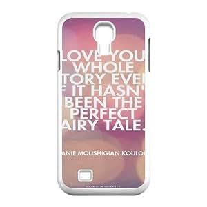 Gentleman's Quotes Samsung Galaxy S4 Case White Yearinspace931519