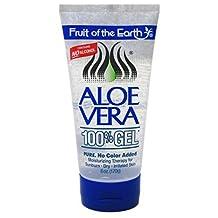 Fruit of the Earth Aloe Vera 100% Gel - 6 oz (Pack of 3)