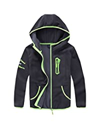 M2C Boys Soft and Cozy Full Zip Polar Fleece Hoodie Jacket
