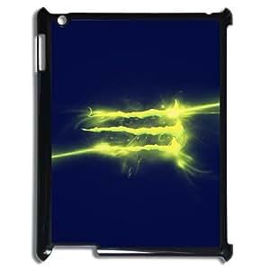 Monster Energy Pattern Plastic Hard Case For Ipad 2/3/4 Case TPUKO-Q911488