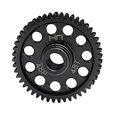 Hot Racing STRF448 Speed Run Steel Spur Gear (48t 48p) - 4tec2: Toys & Games