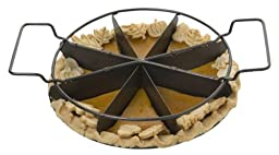 Slice Solutions 9-Inch Sectioned Pie Pan Set