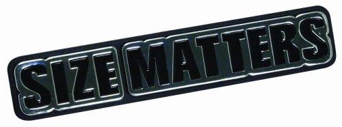 Pilot Automotive IP-246 Size Matters Emblem ()