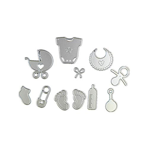Cutting Dies,Pollyhb Metal Cutting Dies Stencils Scrapbooking Embossing DIY Crafts,Light Tool Cabinet Box,for Card Making Scrapbooking (F 44x40mm)