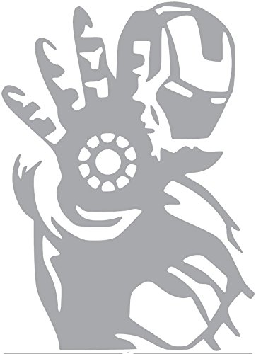 iron man car window decal - 9