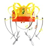 Goodtimera Crown Food Hat, Funny Creative Game Hat Children Toy for Party Family Game