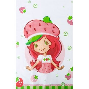 Strawberry Doll Costumes (Strawberry Shortcake 'Dolls' Plastic Table Cover (1ct))