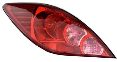 Nissan Versa Hatchback Replacement Tail Light Assembly - Driver Side