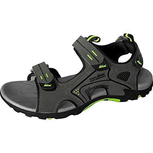 SPORT 2000 BOLZANO UNISEX Trekking Sandale Größe 44 grau-schwarz-grün