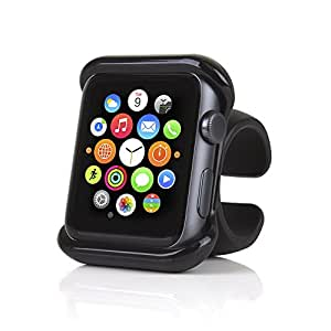 Satechi Apple Watch Series 1, 2 and 3 Grip Mount for Car Steering Wheel and Bike / Motorcycle Handlebar (42mm)