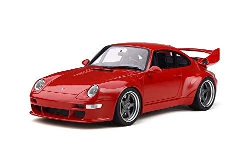 - GT Spirit Porsche 993 Gunther Werks 400R Concept Red 1/18 Model Car GT210