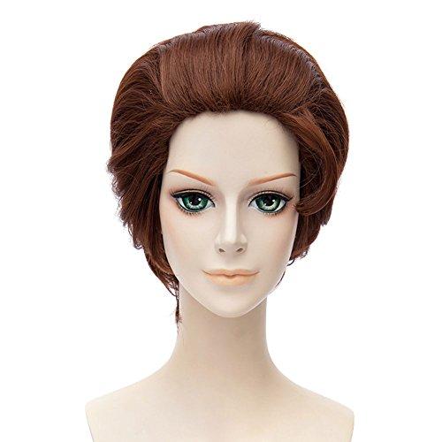Cinderella Movie Wig Child (Xcoser Prince Charming Wig Cinderella Prince Movie Cosplay Short Brown)