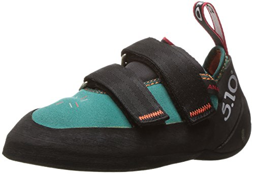 Five Ten Women's Anasazi LV Climbing Shoe,Teal,4.5 M US by Five Ten