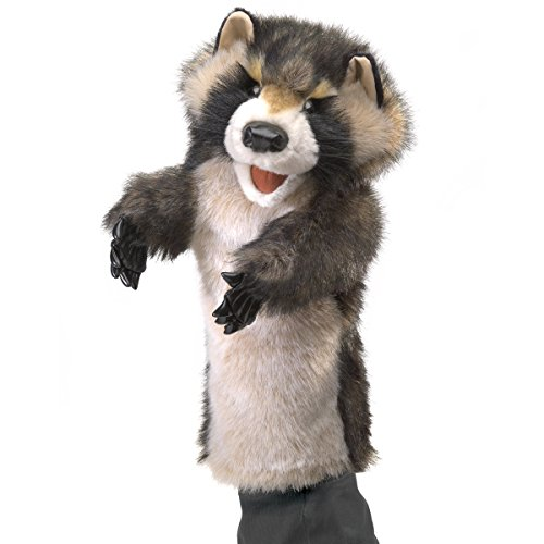 Folkmanis Raccoon Stage Puppet