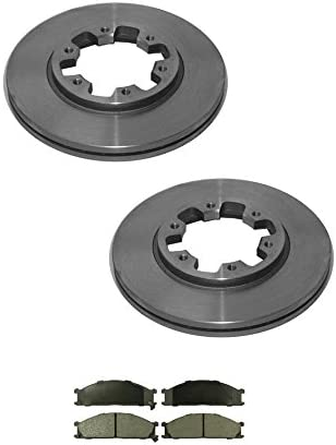Premium Posi Metallic Brake Pad Front Set for Frontier Pathfinder D21