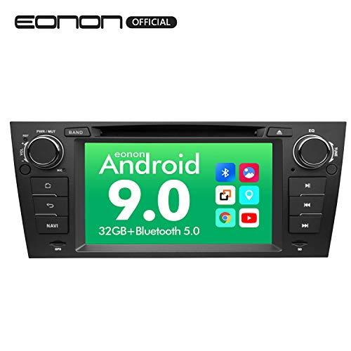 2019 Eonon Android 9.0 Car Stereo Radio, 32GB ROM Radio Applicable to 3 Series 2005,2006,2007,2008,2009,2010 and 2011(E90/E91/E92/E93) 7 Inch Support Bluetooth, WiFi, Fastboot -GA9365