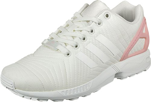 W Multicolore Rostra Casbla ZX Rose Baskets Casbla Femme Vert Basses Blanc adidas EU Flux 8EnxOP81