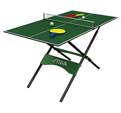 G02238W Stiga 54in Mini Pong Table Tennis Table