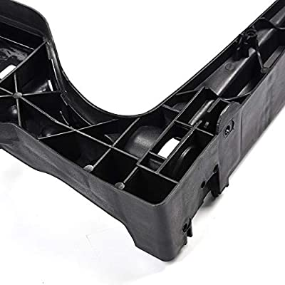 For Audi A5 S5 2008-2020 / S4 2010-2016 / A4 2009-2016 Primed Black Radiator Support Assembly 8K0805594L AU1225124: Automotive